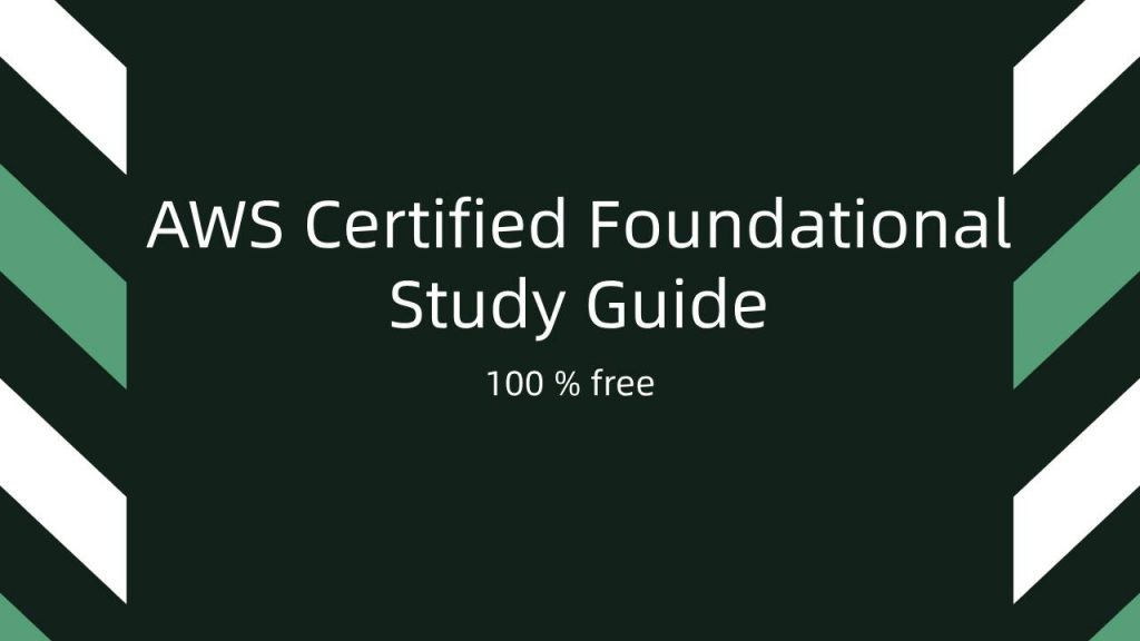 AWS Certified Foundational
