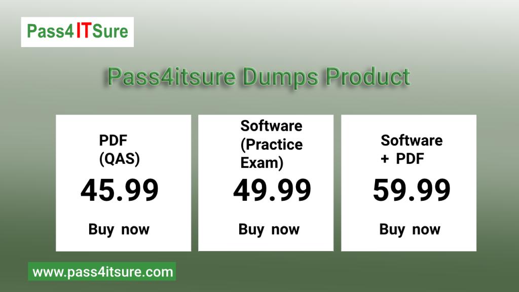pass4itsure dumps product