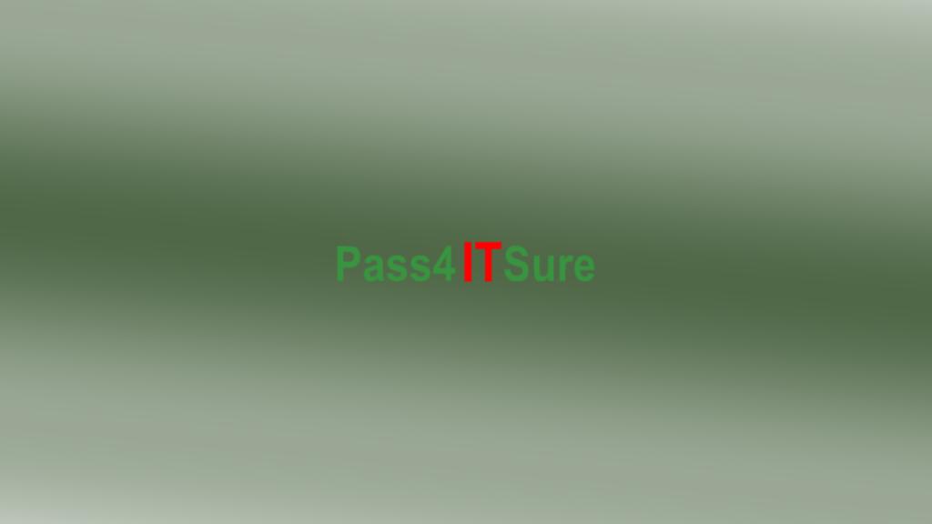 pass4itsure.com